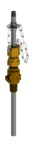 SAFTFLO EB-130 series retractable injection quill brass corporation stop variant.