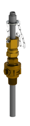 SAFTFLO EB-191 Series retractable injection quill.